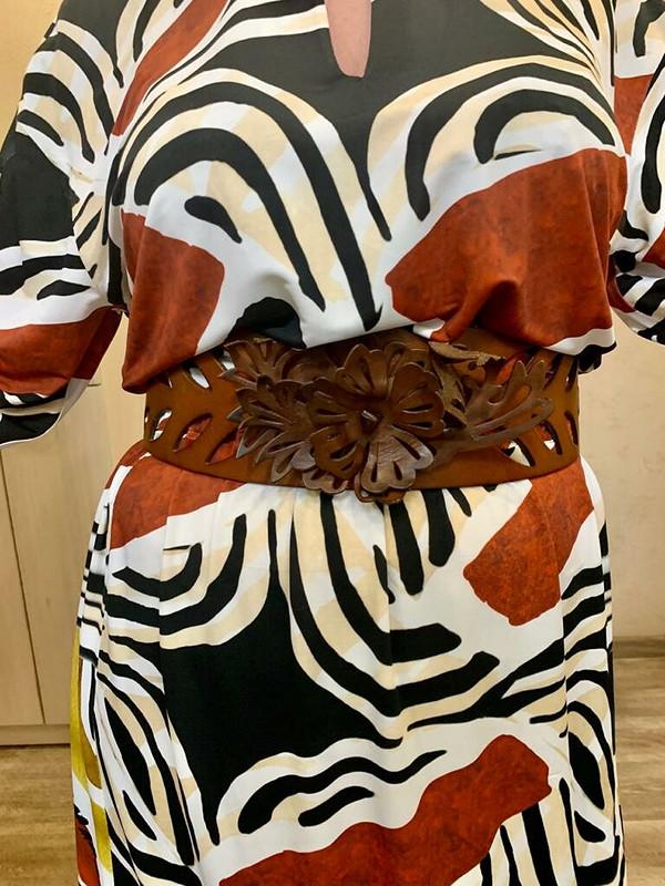 Платье «Веселая терракота»
