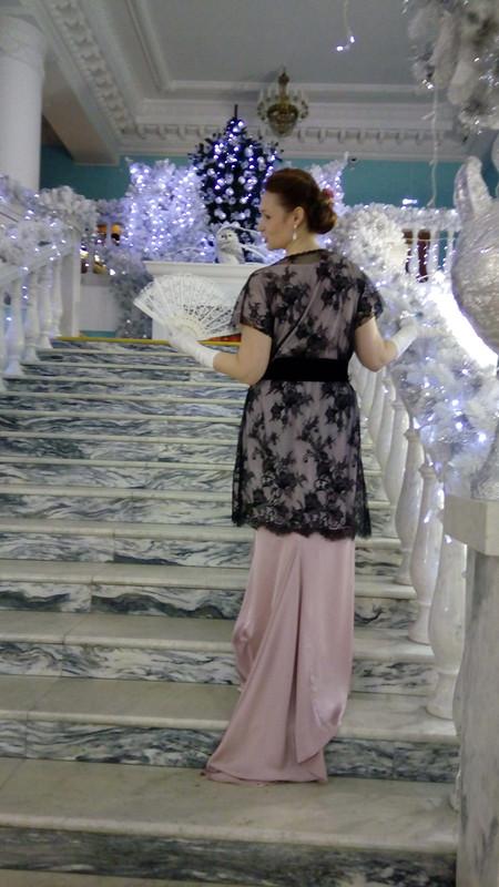 Платье «Всегда мечтала ошлейфе!»