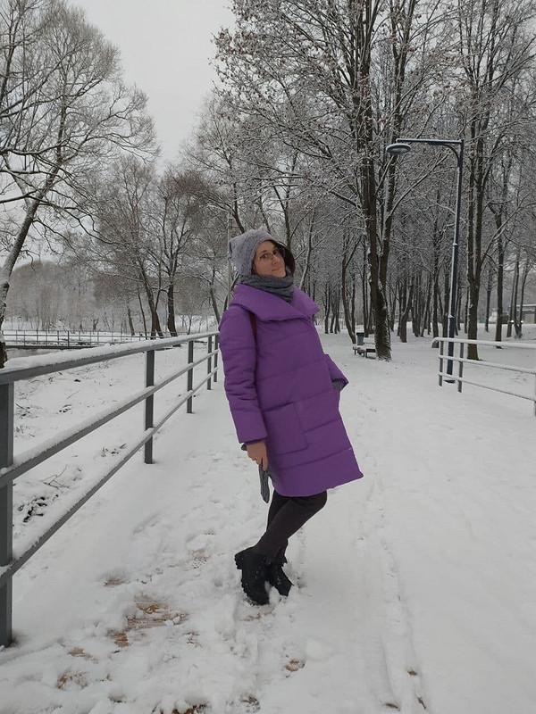 Пальто «Моё личное облачко»