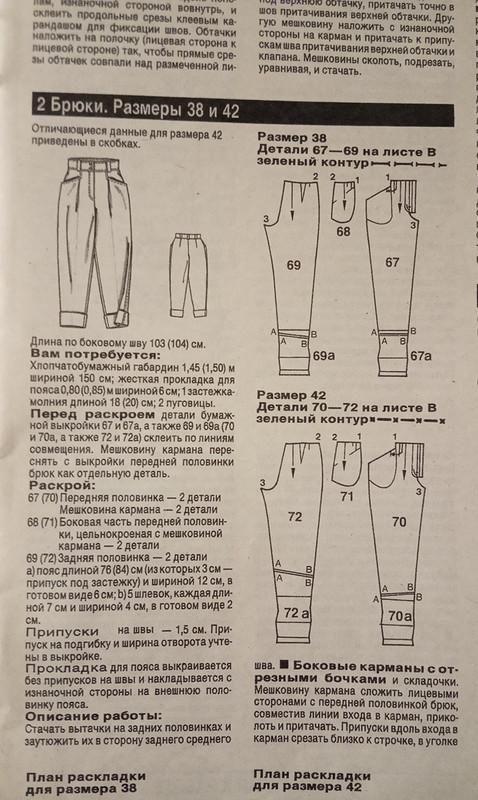 Классические брючки из1990-ОГО)))!!!