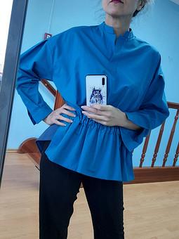 Работа с названием Блуза-рубашка-поло