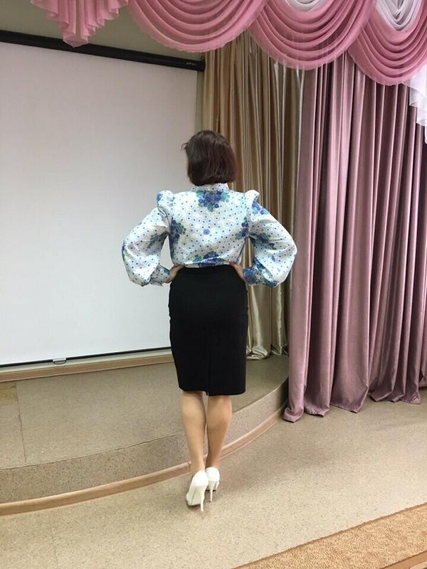 Блуза сбантом