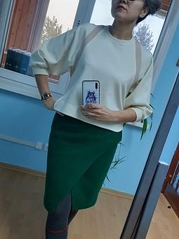 Работа с названием Блуза и юбка: переделкины работы