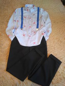 Работа с названием Рубашка, которую хотелось повторить