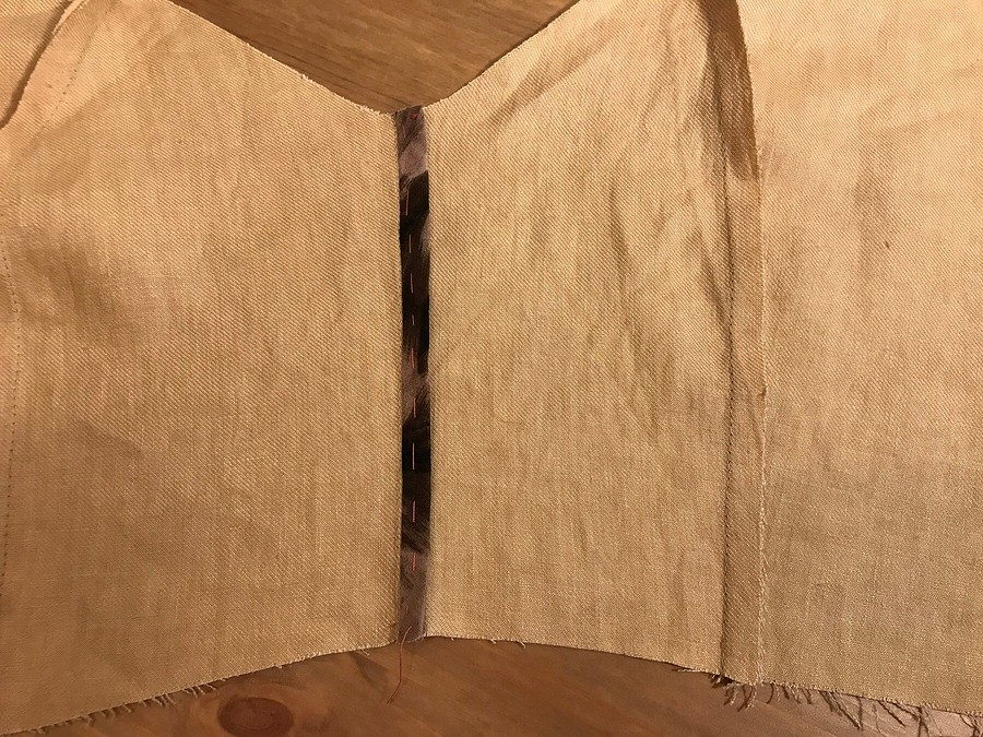 Настроение сафари: шьём эффектный сарафан-жилет повыкройке Burda