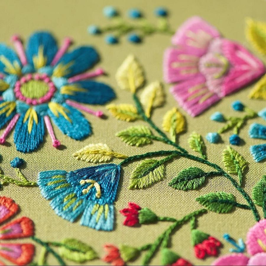 Чтобы понять, как я люблю цвет, просто посмотрите намои работы: рукодельный instagram недели