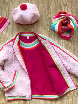 Работа с названием Куртка для девочки