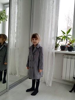 Работа с названием Детское пальто