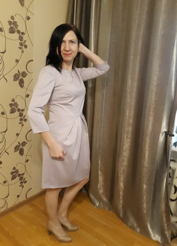 Платье сюбкой тюльпан от ресурс
