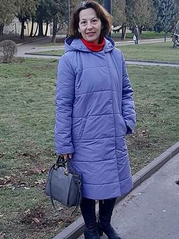Работа с названием Удобное стеганое пальто
