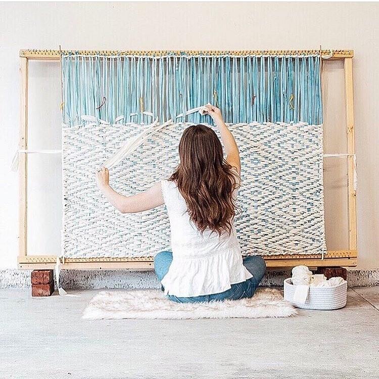 Искусство изволокон инитей: рукодельный instagram недели