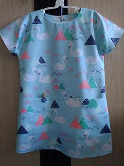 Работа с названием Ещё одно платье для маленькой модницы