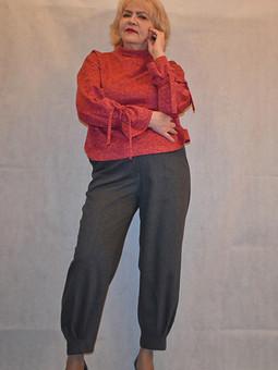 Работа с названием Полюбившиеся брюки и пуловер