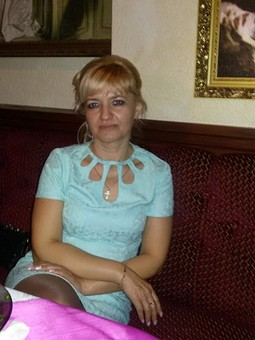 Работа с названием Платье в бирюзе)))