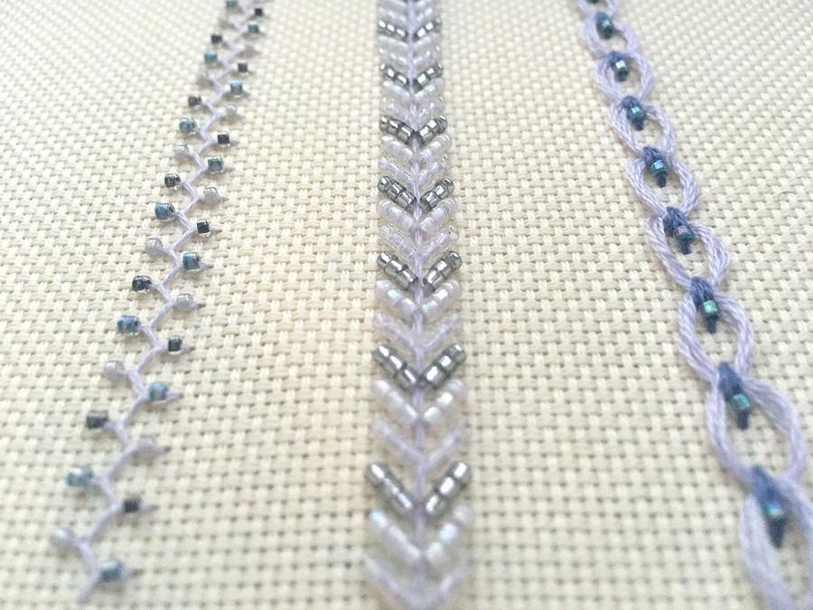 Вышиваем декоративный орнамент сиспользованием бисера: 3 варианта