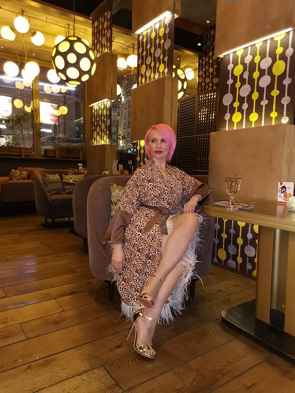 Платье «Леопардовое настроение»