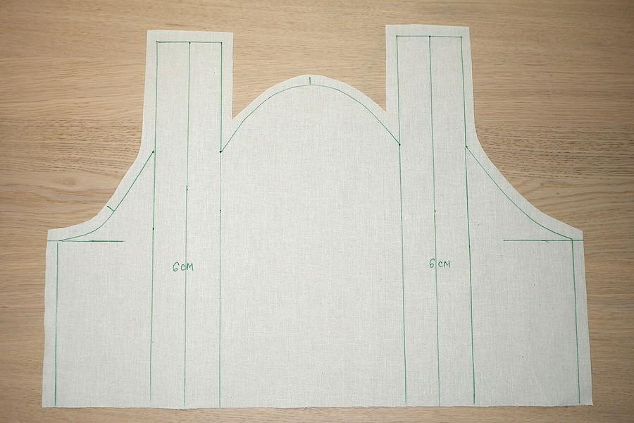 Моделируем рукав со складкой набазе выкройки Burda