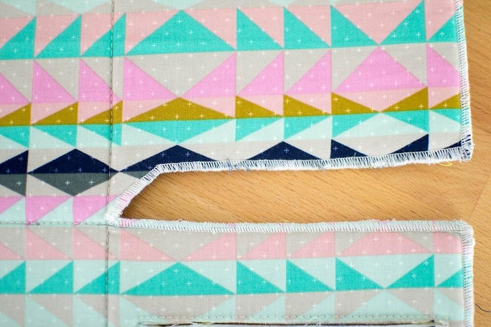Корзинка-органайзер изткани: мастер-класс
