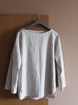Работа с названием Полосатая блузка в стиле Japan