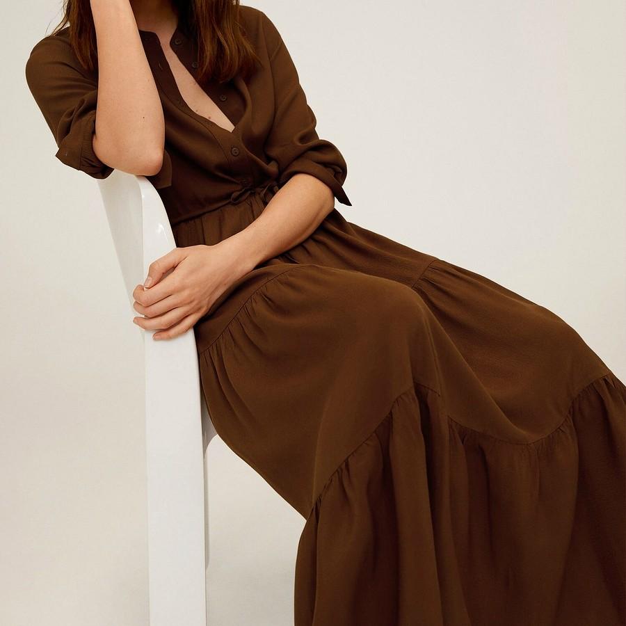 Само очарование: вмоде — платья смногоярусными юбками иоборками