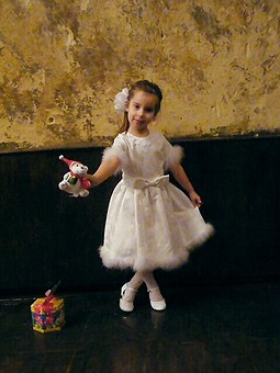 Работа с названием Платье из Burda 12/2003