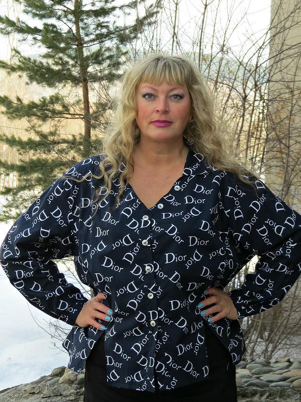 Блуза, или Разумное потребление (или логомания 3)