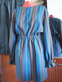 Работа с названием Полосатенькое платье