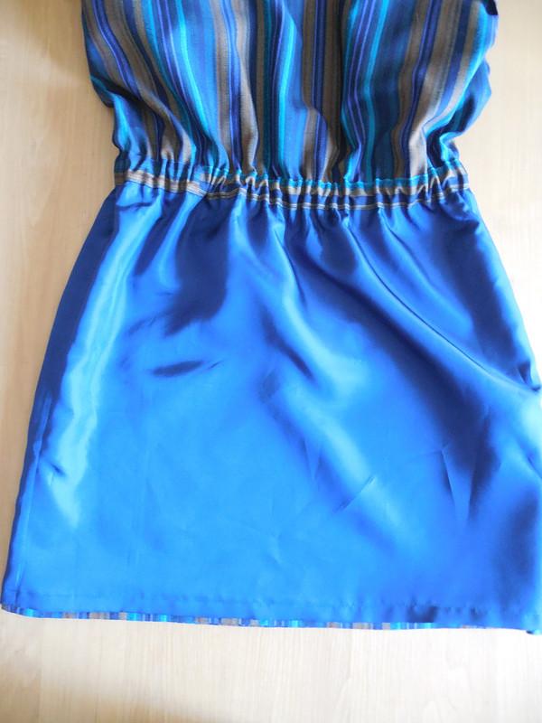 Полосатенькое платье