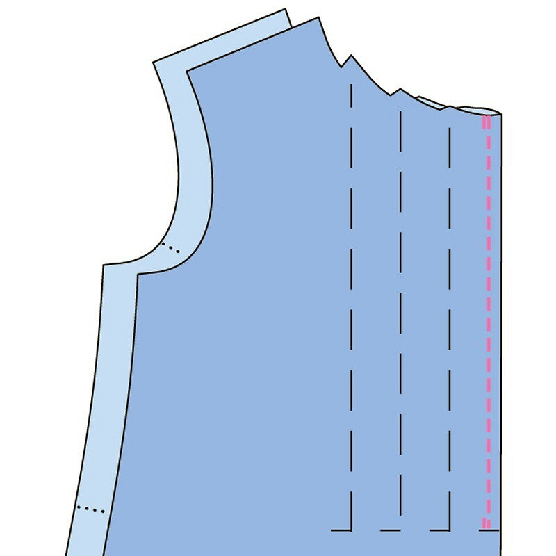 Азы шитья: как выполнить застроченные складки