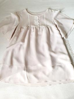 Работа с названием Легкое детское платье для жары