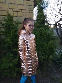 Работа с названием Куртка для дочки