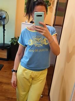 Работа с названием Домашняя одежда: футболка и брюки