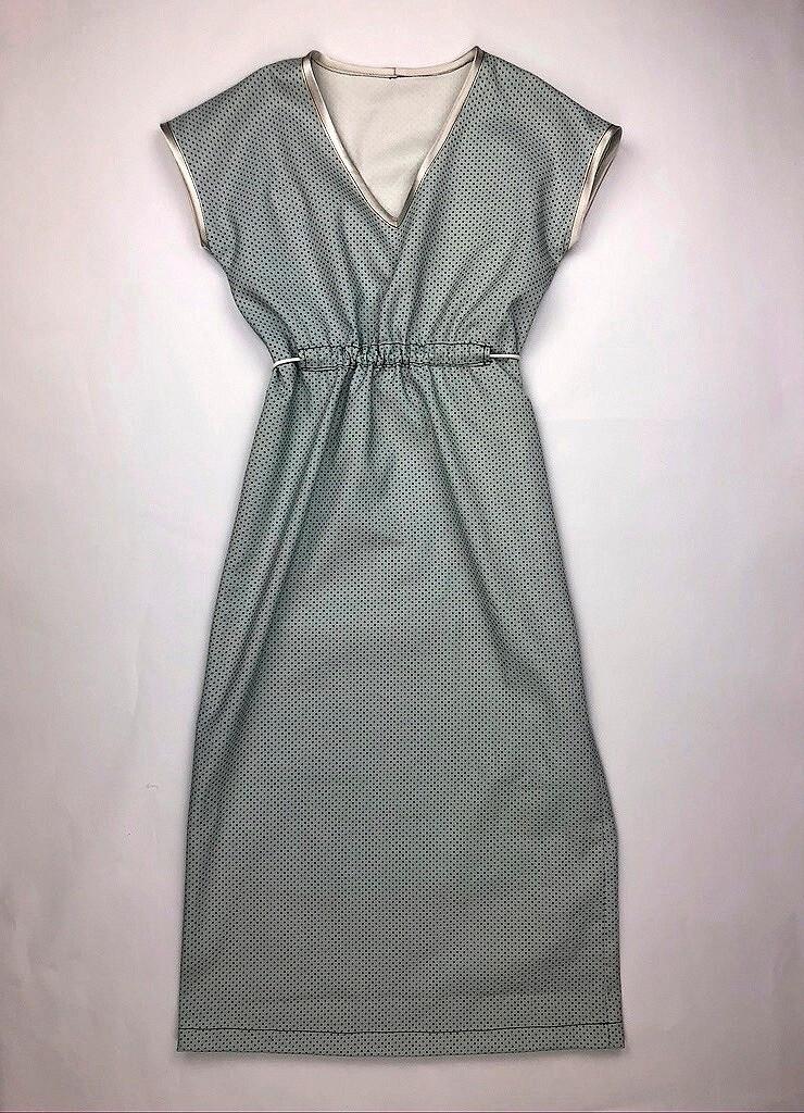 Burda Extra: простое платье-миди своими руками