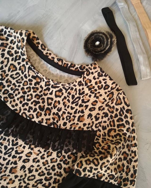 Леопардовая блузка от gmirsv