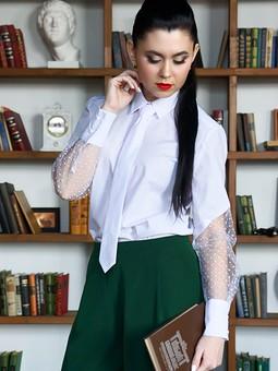 Работа с названием Рубашка и галстук