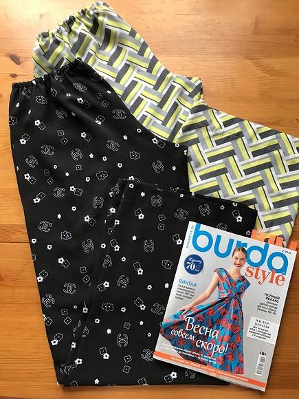 Быстро икрасиво: шьём домашние брюки повыкройке Burda