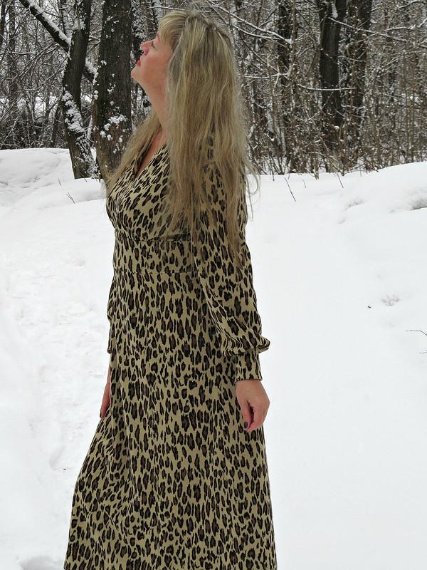 Платье «Снежный барс»