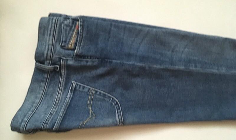 Как подшить джинсы исделать потёртости: мастер-класс