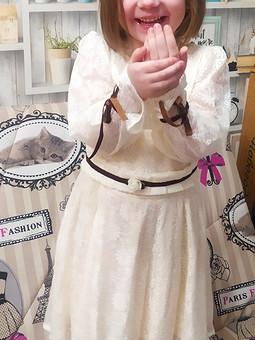Работа с названием Платье для утренника 8 марта
