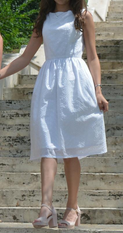 Легкое хлопковое платье