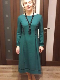 Работа с названием Пуританское платье