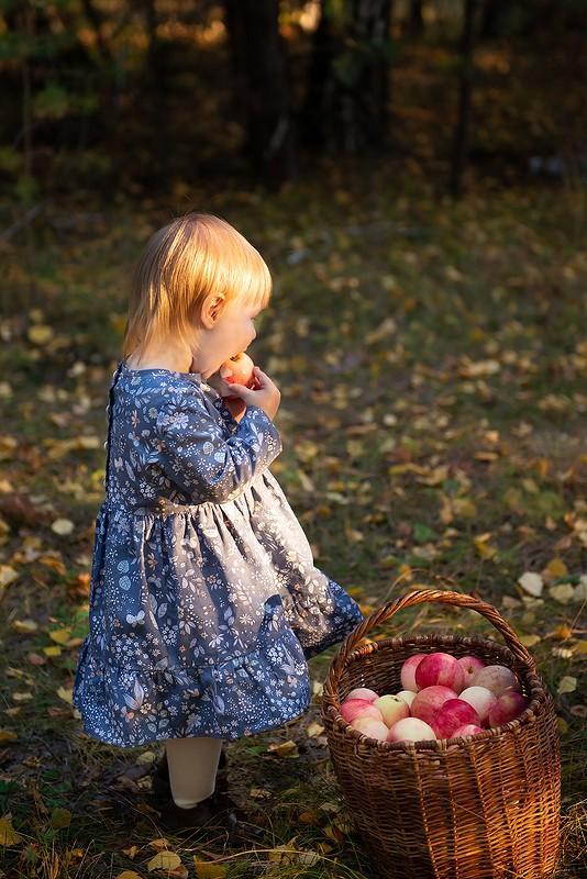 Детское осеннее платье