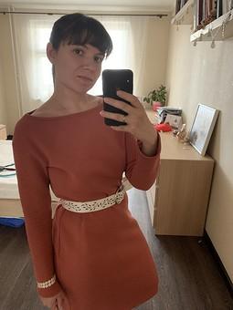 Работа с названием Платье Тельма
