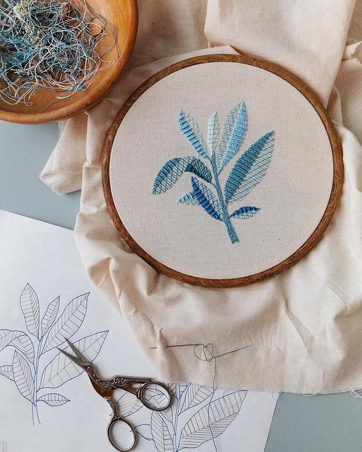 Вышивка даёт драгоценное время длясамоанализа: рукодельный instagram недели