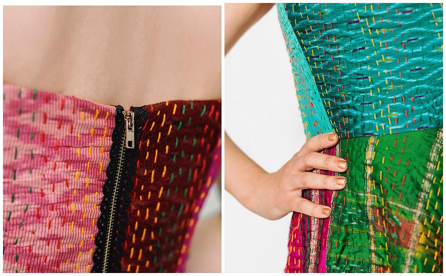 Платье изстеганого покрывала: эксперимент отблогера Марси Хэрриэл