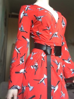 Работа с названием Платье Birds
