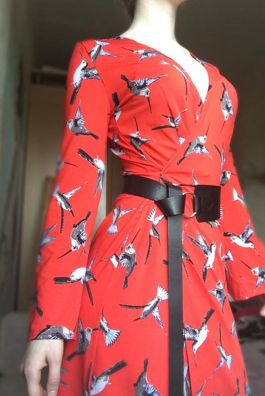 Платье Birds