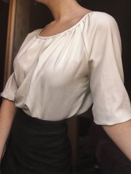Работа с названием Блуза и юбка из бабушкиного пальто