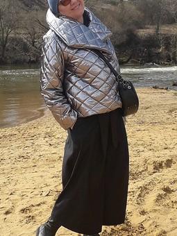 Работа с названием Куртка и брюки