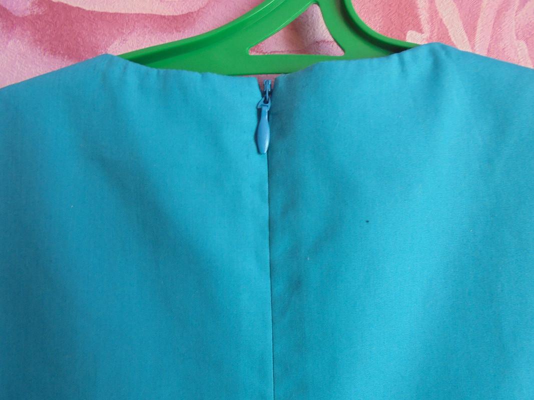 Платье А-силуэта со складками
